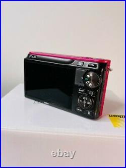 Nikon 1 One J2 Digital Camera, Pink VR 10-30mm AF lens RARE PINK COLOUR