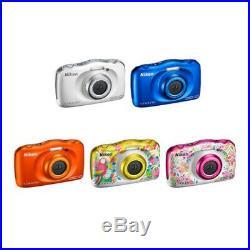 Nikon COOLPIX W150 Digital Camera 5 Colors