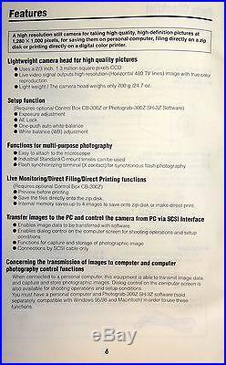 Nikon Fujix HC-300Zi Color Digital Microscope Camera and Control Box