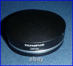 OLYMPUS DP25 MICROSCOPE 5MP COLOR FIREWIRE CAMERA T5, firewire card, cable