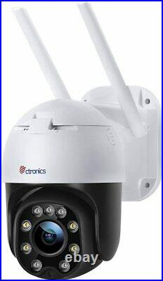 Outdoor Security Camera with Color Night Vision, Ctronics 1080P PTZ Digital Zoom