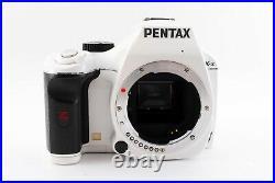 PENTAX K-x 12.4MP Digital SLR Camera White Color withTwo Lens Set Excellent F/S
