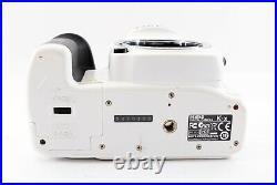 PENTAX K-x 12.4MP Digital SLR Camera White Color withTwo Lens Set Excellent++ F/S