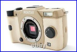 PENTAX Q10 12.4MP Digital Camera Only One Order Color Cream Yellow Tested #7567