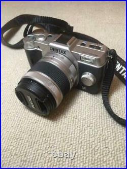 Pentax Q10 Digital camera Body color Silver 12.4 million pixels Excellent