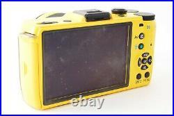 Pentax Q7 Digital Camera Yellow Brown (Rare color) with 02 lens 5-15mm 1836shot