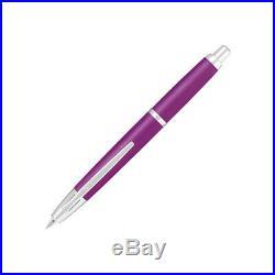 Pilot Fountain Pen Capless Digital Camera 20 Colors Limited Purple Third Bullet