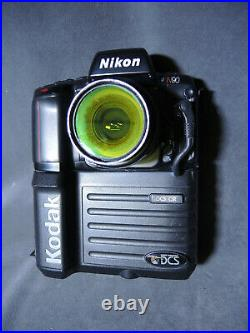 RARE Vintage Kodak DCS 420CIR Color Infrared Digital Camera 420 CIR with Extras
