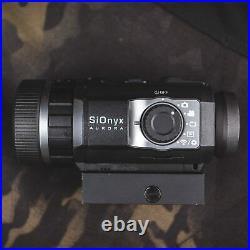 SIONYX Aurora Black I True-Color Digital Night Vision Camera with Picatinny