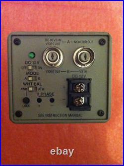SONY Digital Hyper Had Color Video Camera SSC-DC30P