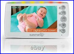 SUMMER INFANT Side by Side 2.0 BABY MONITOR Digital 5 Screen TWO CAMERAS Video