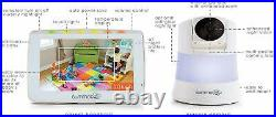 SUMMER Wide View 2.0 Baby Monitor DIGITAL 5' Screen COLOUR VIDEO Zoom Camera VGC