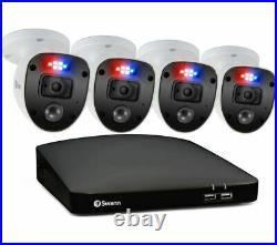 SWANN Enforcer SWDVK-846804SL-EUDVR Security System 1 TB, 4 Cameras