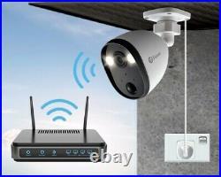 SWANN SWIFI-SPOTCAM-EU Full HD 1080p WiFi Spotlight Outdoor Security Camera