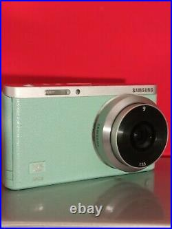 Samsung NX Mini 20.9MP Digital Camera Mint colour(ED 9mm Lenses) Pls read
