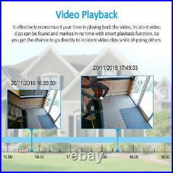 Security Camera System Wireless Home CCTV 3MP NVR 4 6 8PCS 1/2TB HDD Kit Audio