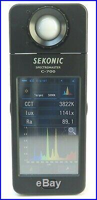 Sekonic C-700 SpectroMaster Spectrometer Color Control Tool