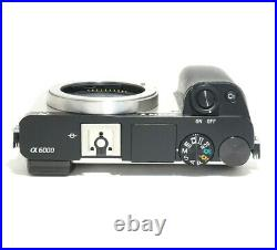 Sony Alpha A6000 24.3MP Digital Camera Custom Color Silver/ Black (Body Only)