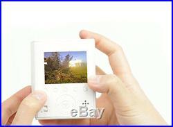Sun & Cloud self-generating energy solar digital camera New White color