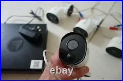 Swann 1080P CCTV Kit 4 Channel Home Security Camera System Outdoor Night Vision