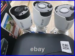 Swann 5MP 2.4k Super HD NVR & 3x 5MP Bullet Cameras 2TB HDD KIT-NVR-7450