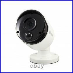 Swann DVR4 4780 4 Channel 1TB Super HD DVR 3MP Thermal Sensing Cameras CCTV Kit