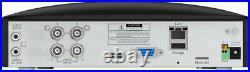 Swann DVR 4680 4 8 Channel HD 1080SL Heat Motion Sensing PIR Camera CCTV Kit