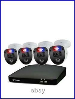 Swann Enforcer 8 Channel Full HD (1080p) 1TB DVR CCTV Security System 4 Camera