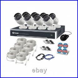 Swann NVR 8000 8 16 Channel 4K Ultra HD Network VR CCTV 4TB NHD-880 Bullet Cam