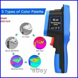 Thermal Imaging 2.4 Color Screen Handheld Image Camera Humidity Thermometer