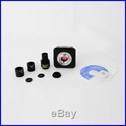 Usb 3.0, New 18 Mp Cmos Microscope Digital Color Camera Eyepiece Video System