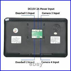 Video Wireless Doorbell Wired Door Phone Camera Fingerprint IC Card Touch Screen