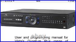 Vista Quantum Plus (h2.64) 16 Channel 2tb Home Or Business Security Camera Dvr