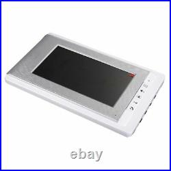 Waterproof Phone Video Doorbell Wired Connection White Panel CMOS Camera Sensors