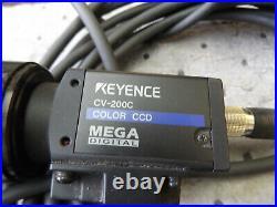 Wholesale Keyence Color CCD Mega Digital Cv-200c Camera Hr F1.6/ F=4.4mm