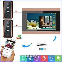 Wifi Video Doors Phone Intercom System Doorbell Wired Camera Hand-free Door Bell