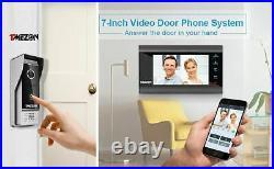 Wireless WiFi Smart Video Doorbell Wired Door Phone Camera Home Intercom System