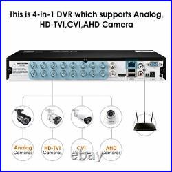ZOSI 16CH CCTV Cameras 1080P 4TB Home Security System 3000TVL HDMI DVR Free App