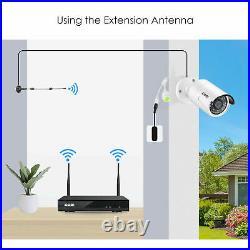 ZOSI 8CH 1080P CCTV Wireless Security Camera System WiFi IP Outdoor 2TB 1TB NVR