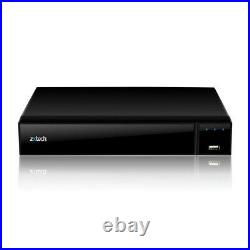 Zxtech Night Vision High Definition Cameras Digital Recorder Home CCTV System UK